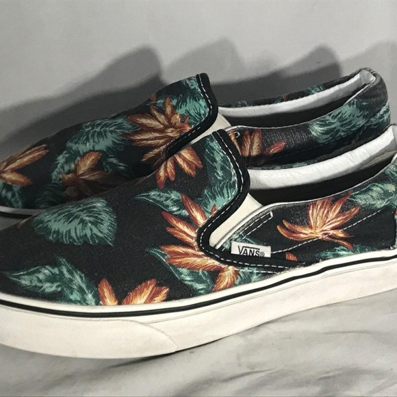 VANS Shoes | Off The Wall Slip Ons Size